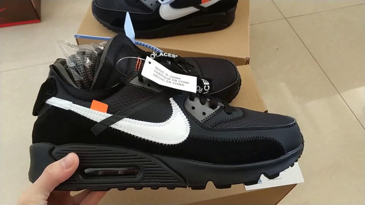 designer fashion 25197 20f0b OFF-WHITE x Nike Air Max 90 V2 AA7293-001