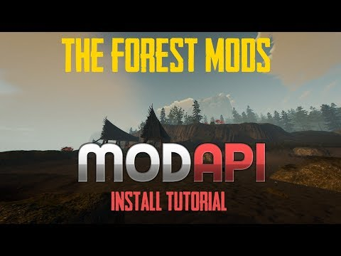 The Forest Cheat Menu Download & Tutorial