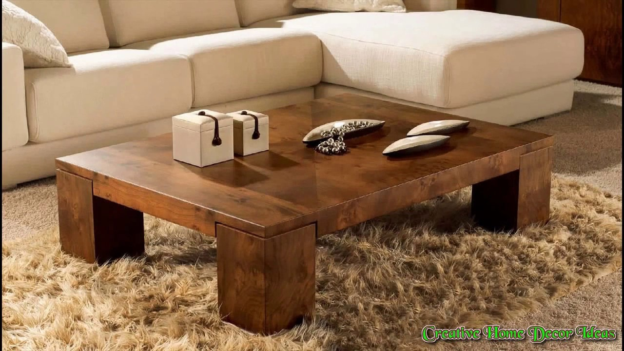 - Modern Rustic Coffee Table Ideas - YouTube