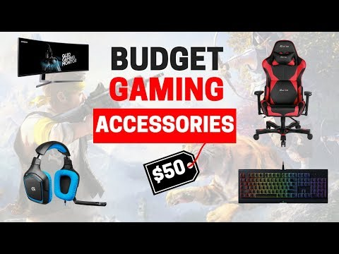 8 Must-Have Budget Gaming Accessories (Under $50)
