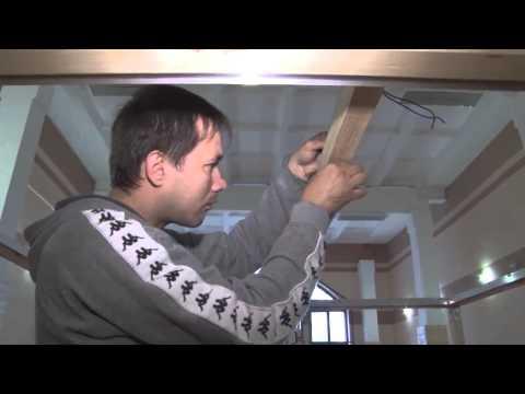 видео: Мастер класс по монтажу Парящих потолков
