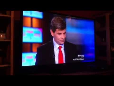 George Stephanopoulos cell phone goes off on ABC World News
