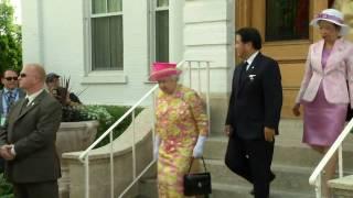 Queen Elizabeth II visits Canada, Royal Tour 2010 - Day 6