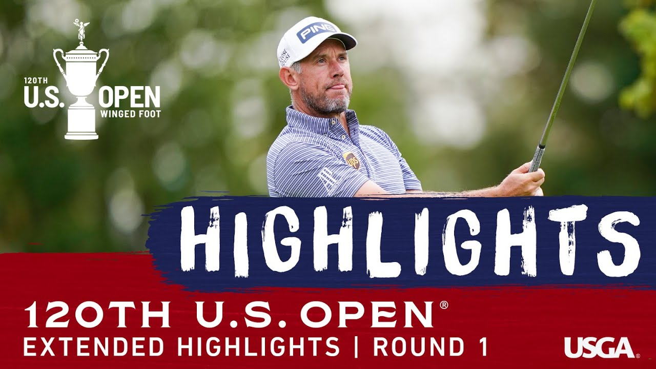 2020 U.S. Open, Round 1: Extended Highlights