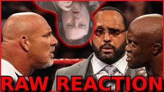 Goldberg tells Bobby Lashley Hes Next! : RAW Reaction 19.Jul.2021