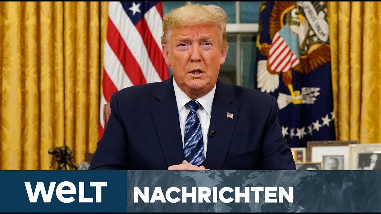 CORONAVIRUS IN USA: Trump verhängt Einreisesperre für Europa - heftige Corona-Vorwürfe
