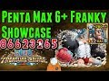 Penta Maxed 6+ Franky Showcase | Highest Damage Choke Ever | One Piece Treasure Cruise