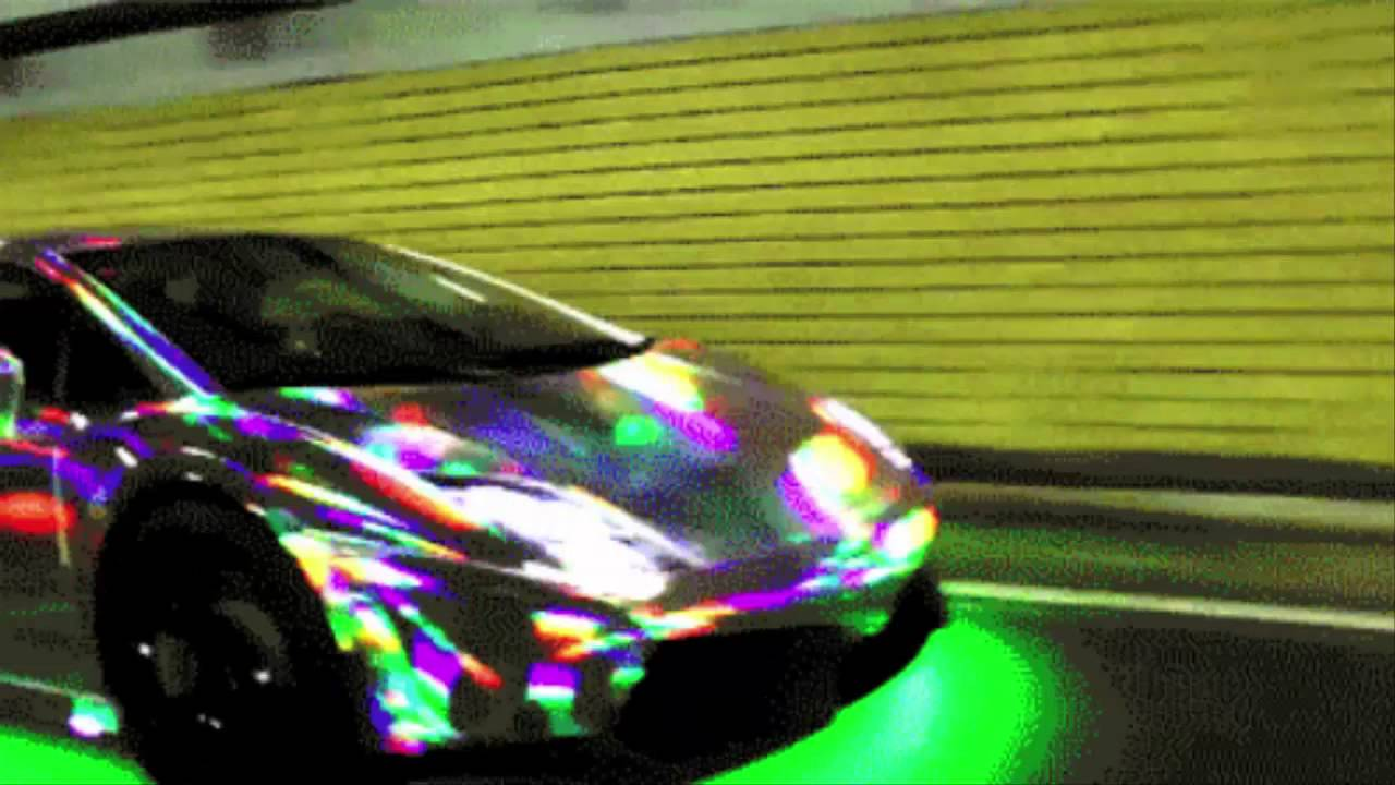 Holographic Paint Job Car