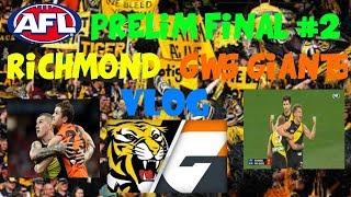 Video AFL Preliminary Final #2 2017 Richmond Tigers vs GWS Giants Vlog download MP3, 3GP, MP4, WEBM, AVI, FLV Oktober 2017