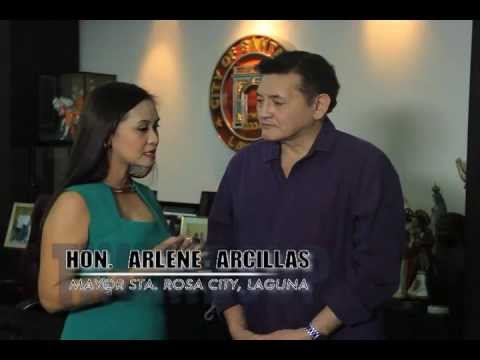 Mayor Arlene Arcillas of Sta Rosa, Laguna Thumbs Up TV Feature