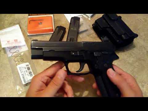 Sig Sauer P226 9mm DA/SA