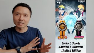 Jam Tangan Seiko 5 Naruto and Boruto Limited Edition 2020