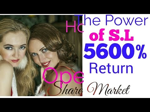 Power of S.L, 5600% return,Nifty/sensex,#sharemarket, market subject to risk.
