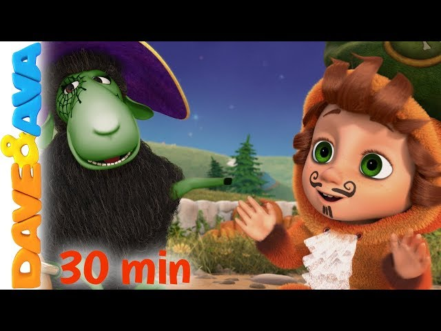 🍬 Halloween Songs and Nursery Rhymes Collection from Dave and Ava 🎃