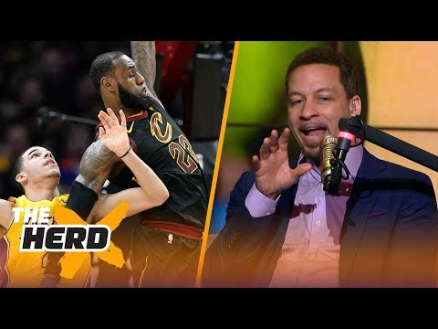 Chris Broussard talks LeBron mentoring Lonzo, Paul George's OKC Thunder slump and more   THE HERD