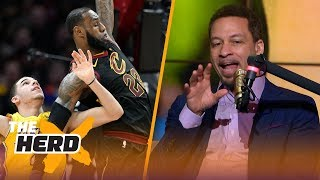 Chris Broussard talks LeBron mentoring Lonzo, Paul George