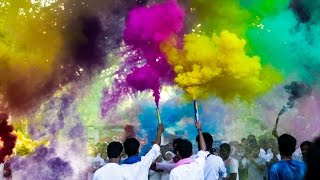 iit bombay sports the color run 2017   official aftermovie