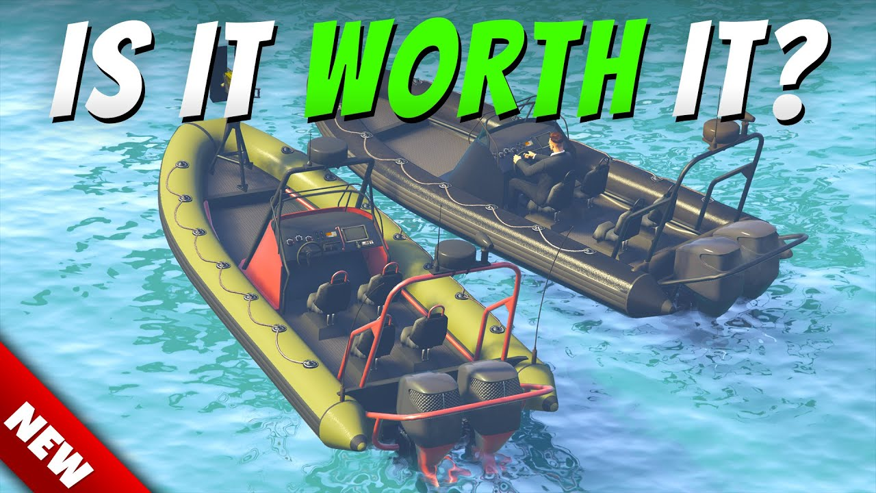 GTA Online Weaponized Dinghy Review - IS $1,850,000 WORTH IT?