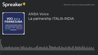 La partnership ITALIA-INDIA