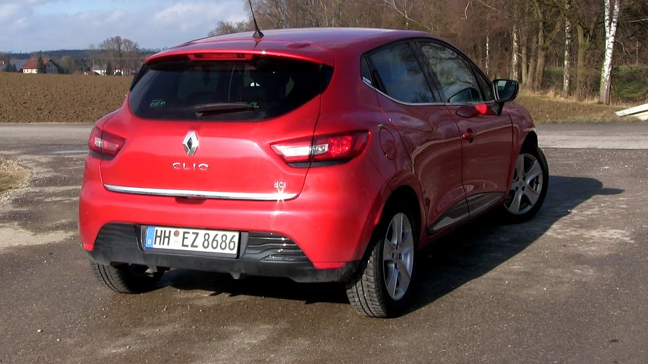 2015 Renault Clio 15 dCi 90 (90 HP) Test Drive  YouTube