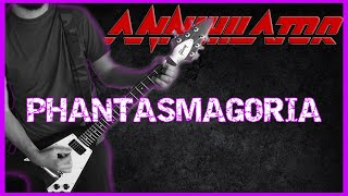 ANNIHILATOR - Phantasmagoria (Never Neverland album 1990) COVER BY Jose M. Nistal -- HD sound