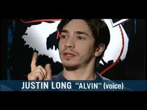 Jason Lee and Justin Long on Alvin and the Chipmunks