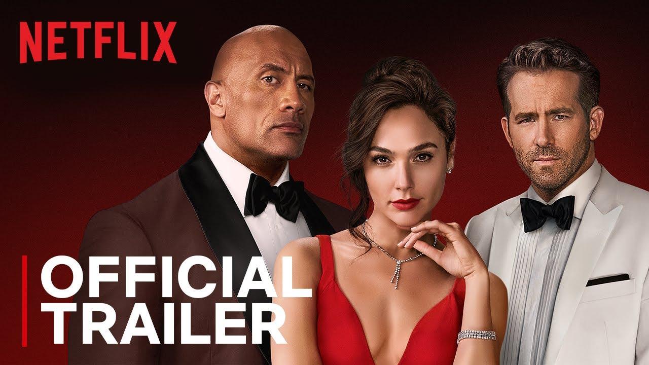 Download RED NOTICE | Official Trailer | Dwayne Johnson, Ryan Reynolds, Gal Gadot | Netflix India