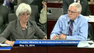 Pt 2 Jane Pepino - Excerpt from Public Works Committee  May 13