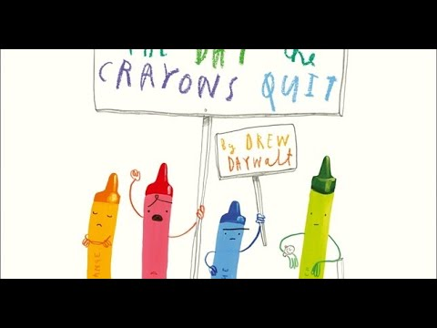 Rose Hill Primary School Story Time: The Day The Crayons Quit by Oliver Jeffers