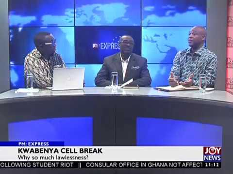 Kwabenya Cell Break - PM Express on JoyNews (22-1-18)