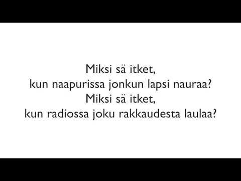 Happoradio - Puhu äänellä jonka kuulen, Instrumental acoustic guitar cover/Karaoke