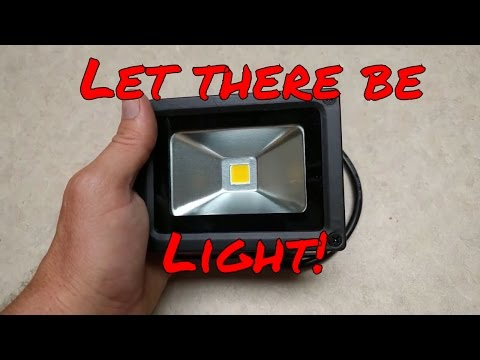10W Outdoor LED Waterproof IP65 800lm 3000K Flood Lights, Warm White
