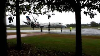 Saab 340B+ Start-up, Taxi and Take-off (REX Airlines) VH-ZRN Top 10 Video