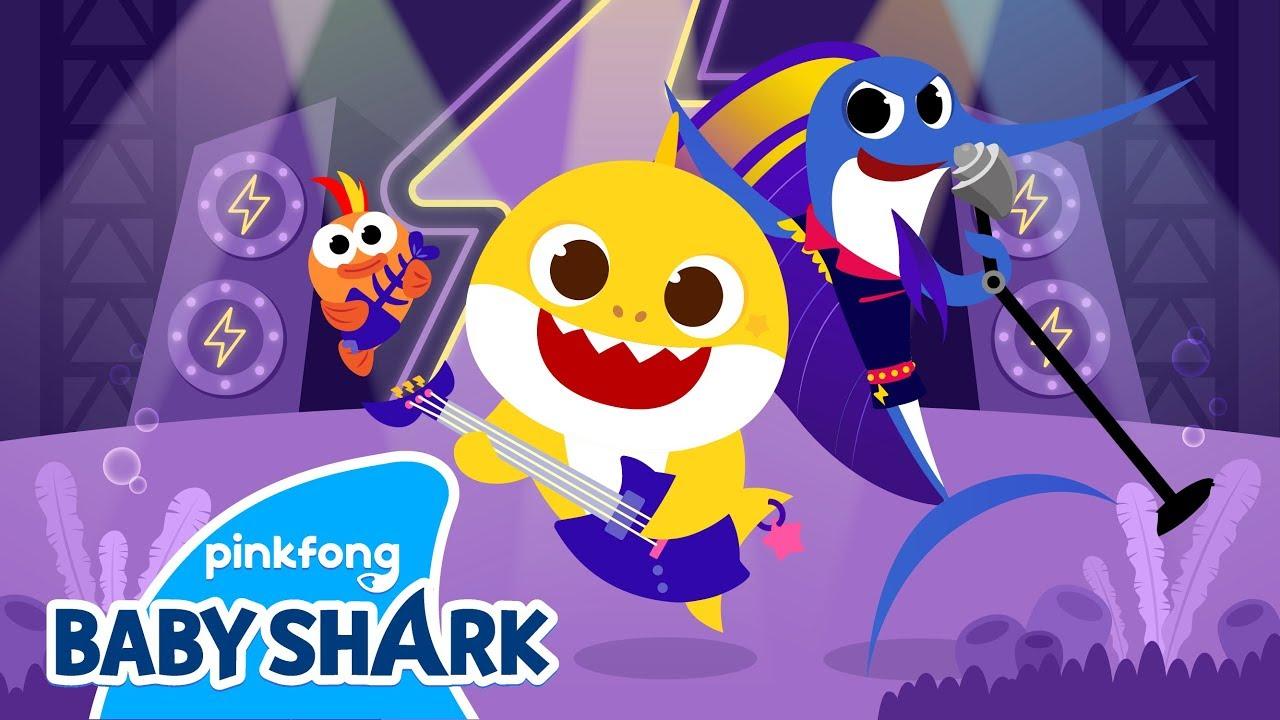 Rock Star Baby Shark | Baby Shark Monthly | Baby Shark Rock Version | Baby  Shark Official - YouTube