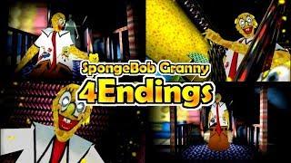 SpongeBob Granny【MOD】4Endings ~4つ全てのエンディング~ thumbnail