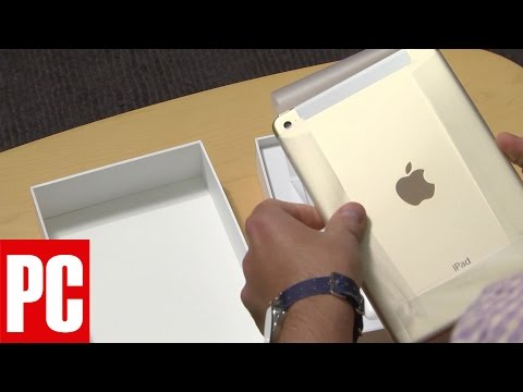 Unboxing the Apple iPad mini 4
