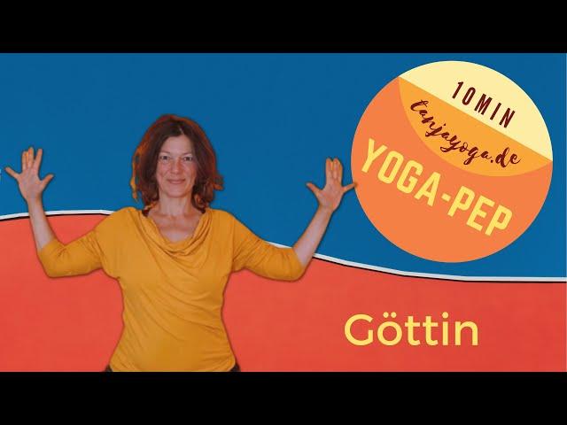 So wirst du zur Yoga-Göttin. #YogaPep