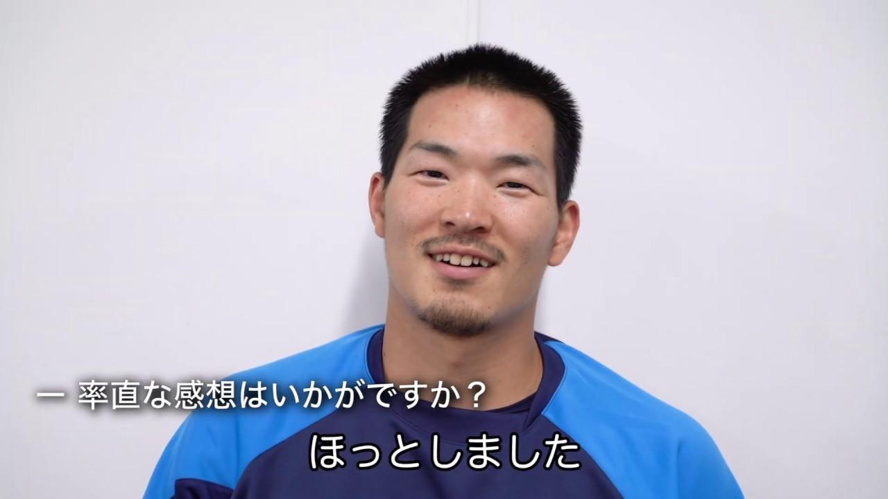 【祝!初安打!】川越誠司選手インタビュー!