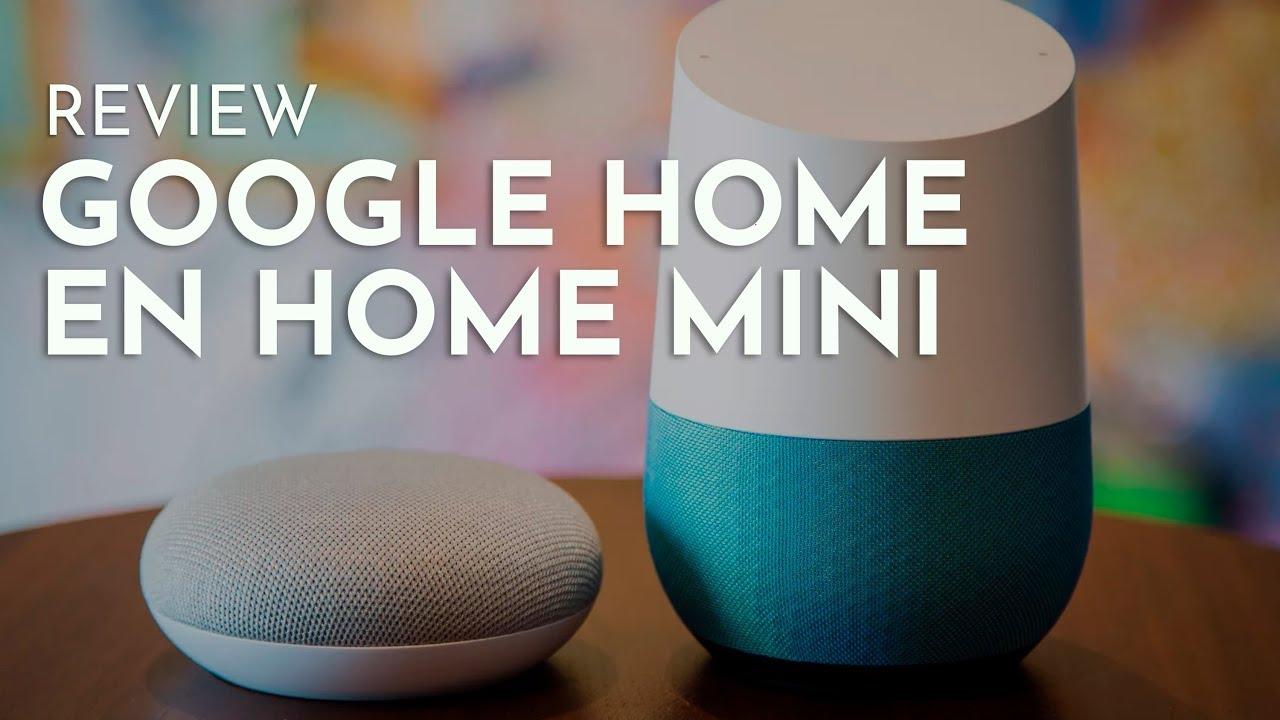 Google Home videoreview: slimme speaker met Google Assistent