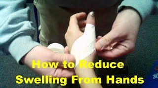 How to Reduce Swelling From Hands Pain Health Recovery Tips For Swollen Fingers With Home Remedies