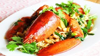 龍蝦伊麵的家庭做法【美食天堂】家常料理食譜 一學就會