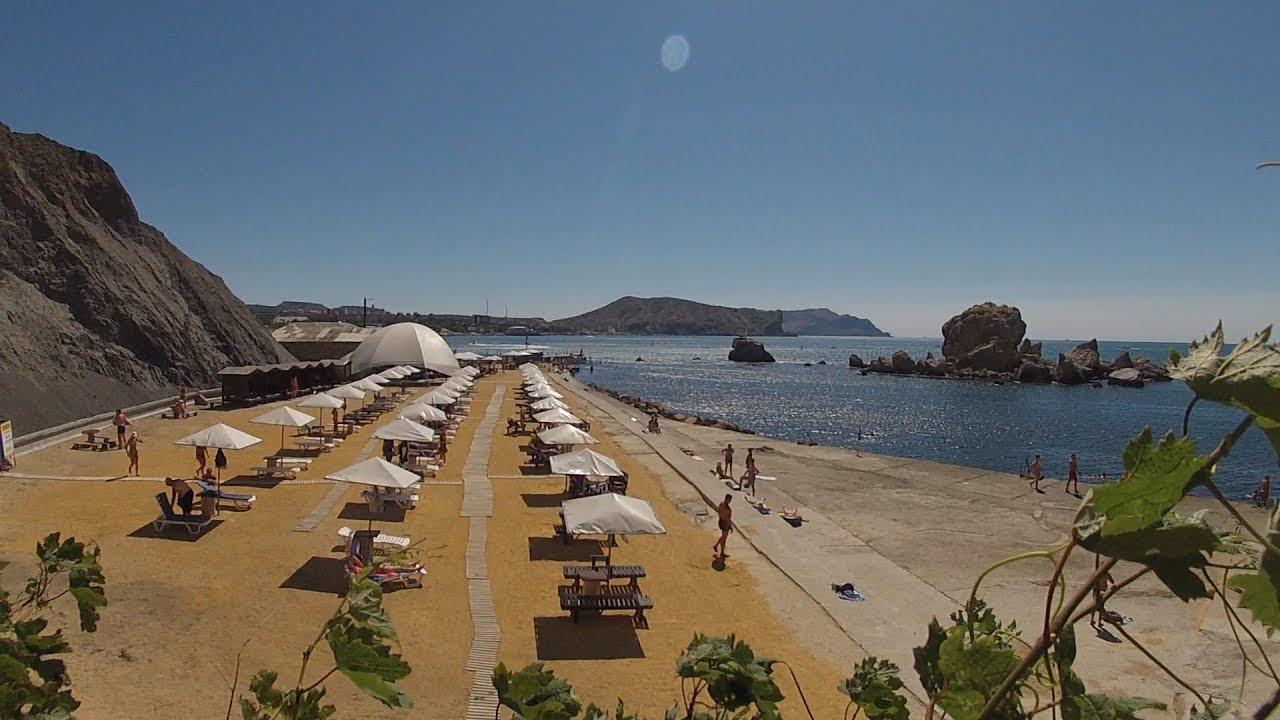судак фото пляжей