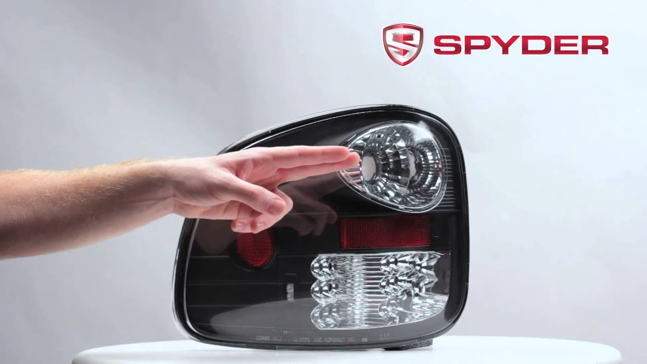 Spyder auto product showcase 1997 2003 ford f 150 flareside led tail light