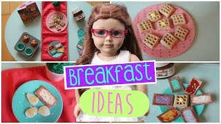 DIY Breakfast Foods ~ For Your AG Doll!