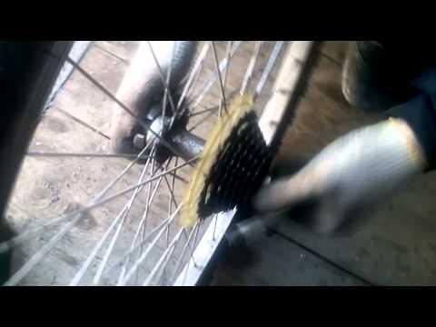 Устранение люфта в ступице заднего колеса велосипеда