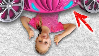 Ястася и её новая комната в стиле принцессы Эльзы