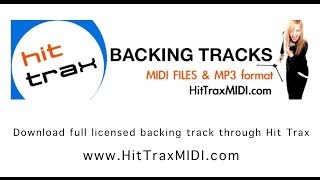 Trumpets (in the style of) Jason Derulo MIDI File MP3 Backing Track