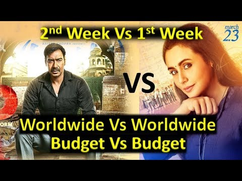 Raid Vs Hichki Movie Box Office Collection & Worldwide Collection 2018