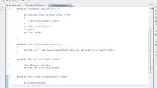 Java Collection-  Implementing ArrayList - part 3