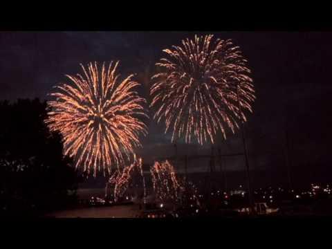 Fireworks Cowes Week 2017